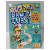 Summer Brain quest 3&4 grade workbook