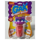 Nickelodeon Gak Frrrrt bucket new red