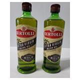 Two Bertolli Extra virgin olive oil Bold taste