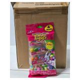 Case of 24 Easter bubble gum egg 4pks