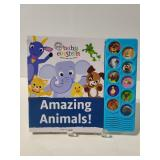 Baby Einstein Amazing Animals sound book