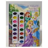 Disney princesses paint activity book