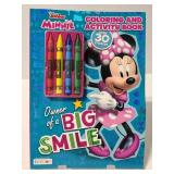Disney Junior Minnie coloring book, new