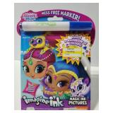 New Imagine Ink Shimmer & Shine coloring book