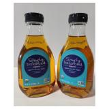 Two Simply balanced organic agave nectar light