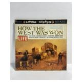 Vintage 1960 LIFE how the west was won series LP