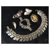 Small vintage jewelry collection