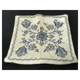 Vintage cotton & linen throw pillow case cover
