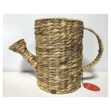 New Opalhouse fiber weave watering can planter