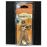 Bahama & Co Hula Girl car air freshener - new