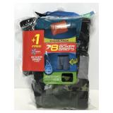 Hanes 8 pack boxer briefs size Large