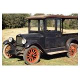 Several Antique Cars & Pickups including 1927 Chevy Huxter Pickup