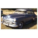 1950 Chevy 2 Door Sedan