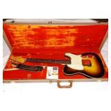 Music Instruments including 1960 Fender Custom Esquire