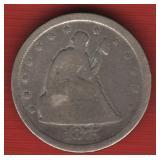 1875-S 20 Cent Piece - RARE