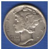 1942/41 Mercury Dime - RARE