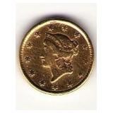 1853 T1 $1 Gold Piece