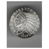 1/2 Troy Ounce Silver Round
