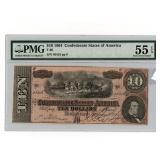 1864 CSA Note PMG AU55