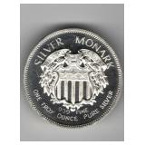1oz Silver Monark