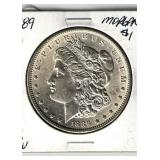 1889 UNC Morgan Dollar
