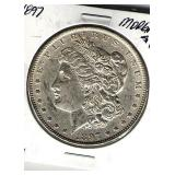 1897 UNC Morgan Dollar