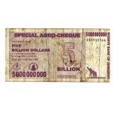 2008 $5 Billion Bank of Zimbabwe