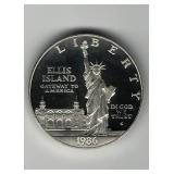 1986-S Ellis Island Dollar