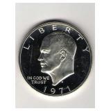 1971-S Proof Eisenhower Dollar