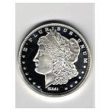 1 oz. Morgan Dollar Silver Round