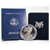 2002-W Proof Silver Eagle