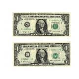 (2) 1963 $1 FRN - Chicago