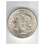 1921 AU Morgan Dollar