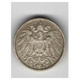 1901 German 1 Mark