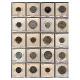 20 Foreign Coins