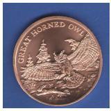 1 0z. Copper Round