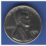 1943 - D Lincoln Cent DDO