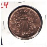 1 oz. Copper Round