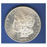 1878-S BU Morgan Dollar