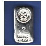 2 Oz. Hand Poured Silver Bar