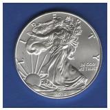 2018 BU Silver Eagle