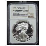 1999 P Silver Eagle