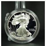 2001-W Proof Silver Eagle
