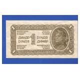 1944 Yugoslavia 1 Dinar