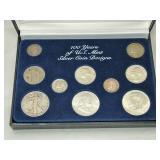 (10) Silver Coin Set