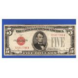 Series 1928-F $5 Red Seal Note