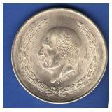 1955 Mexico 5 Pesos