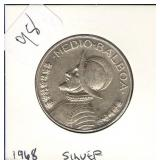 1968 Panama Half Balboa