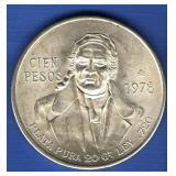 1978 Mexico 100 Pesos
