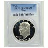 1976-S Proof Eisenhower Dollar